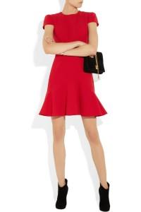 Feu vert pour cette robe rouge ! (désolé pour ce jeu de mot, plus qu'hasardeux, mais il fait trop chaud) - Alexander McQueen - 1 195€