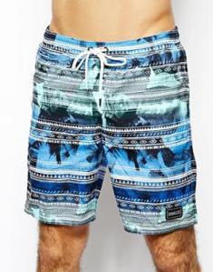 Photos de plage + mauvais filtre Insta + imprimés aztèques = un short vraiment pas mal ! - O'Neill - 56.17€