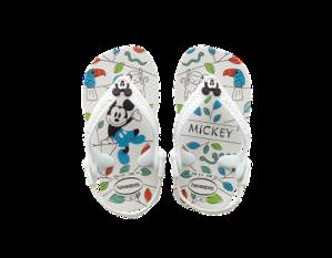 Existe aussi avec Minnie, les bébés ne parlent pas, mais ils pourront quand même choisir leurs tongs - BABY MICKEY MINNIE - HAVAIANAS - 18 €
