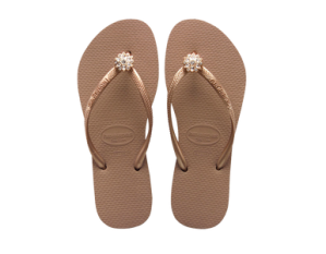 Diamonds are the girl's best friend ! - SLIM CRYSTAL POEM - HAVAIANAS - 40 €