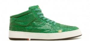 Des baskets vertes !!! Elles sont encore plus belles en vrai - Mais o menos  325€